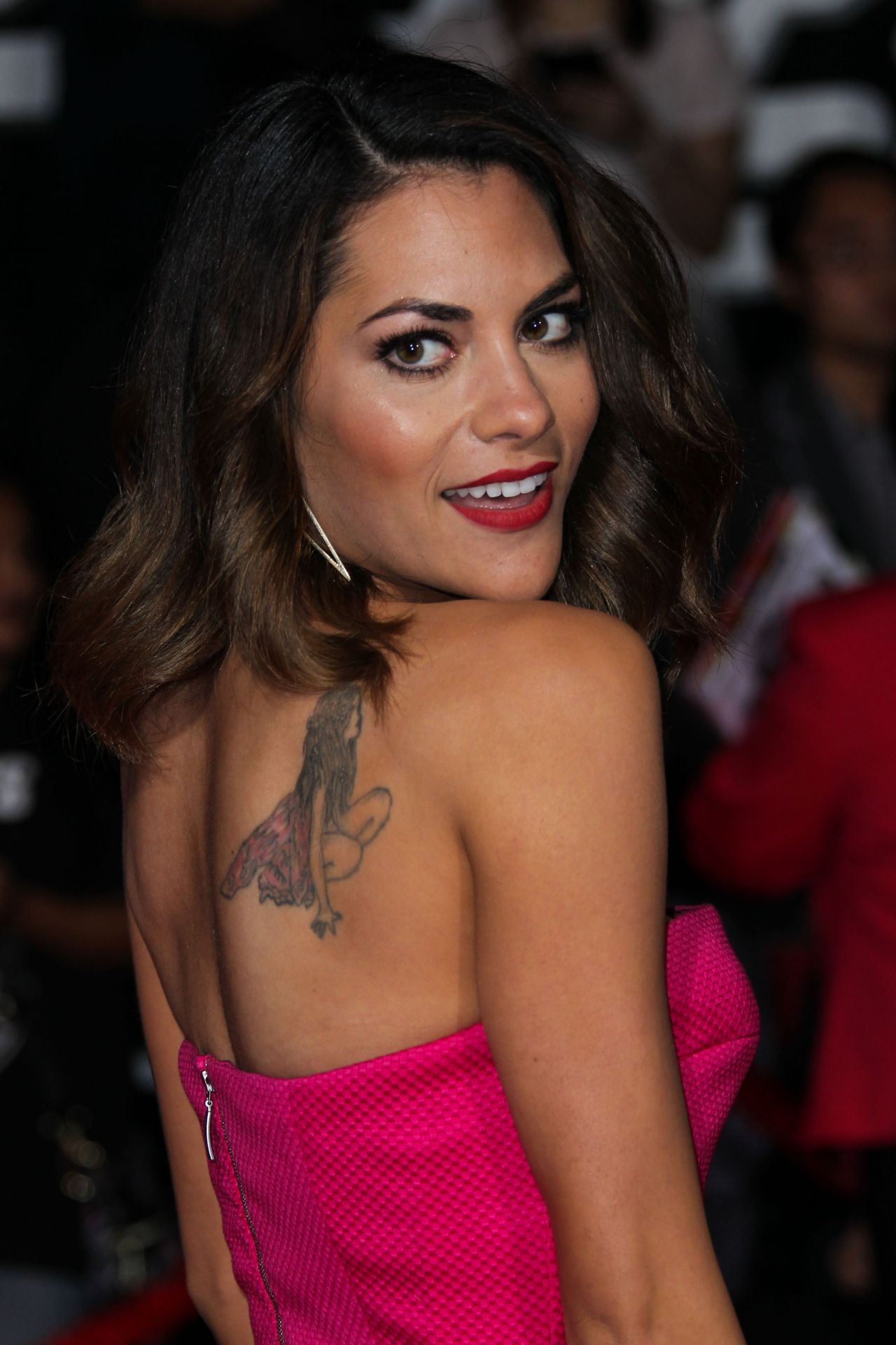 Inbar Lavi on Red Carpet – 'Need For Speed' Premiere in Hollywood
