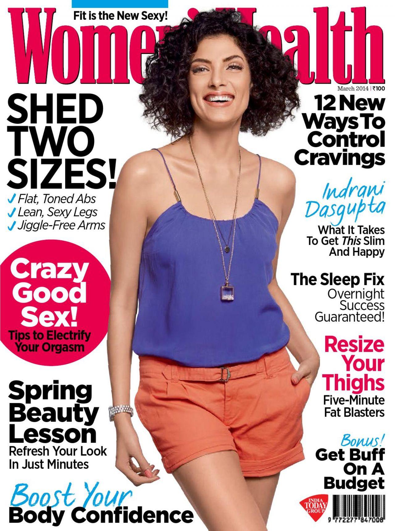 Indrani Dasgupta – Women's Health Magazine (India) – March 2014 Issue