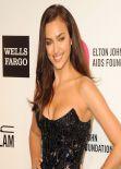 Irina Shayk Hot Red Carpet Photos - 2014 Elton John Oscar Party
