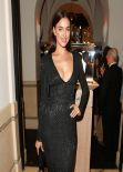 Irina Shayk Wearing Versace Dress – The Weinstein Company's Academy Award Party in Los Angeles