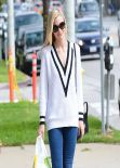 Jaime King Street Style - Out in Los Angeles, March 2014