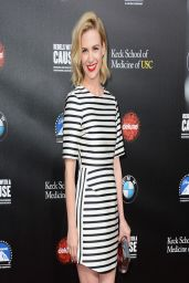 January Jones - 2014 Rebels With A Cause Gala in Hollywood