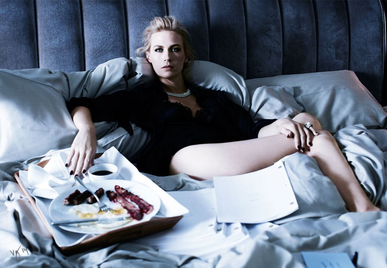 January Jones - Violet Grey Magazine April 2014 Issue