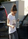 Jenna Dewan-Tatum Gym Style - Hollywood, March 2014