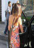 Jenna Dewan-Tatum in Mini Dress - Leaving Gracias Madre Restaurant - West Hollywood, March 2014