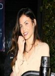 Jenna Dewan-Tatum Night out Style - Out Dinner in Hollywood, March 2014