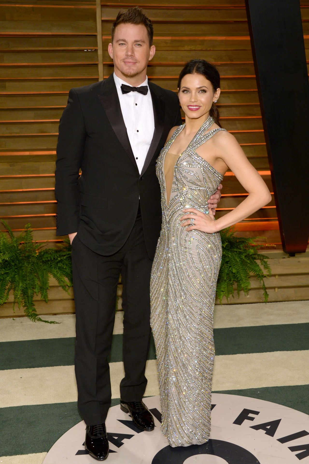 Jenna Dewan - Vanity Fair Oscar Party in Holywood, March 2014