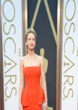 Jennifer Lawrence in Dior With Neil Lane Jewelry - 2014 Oscars