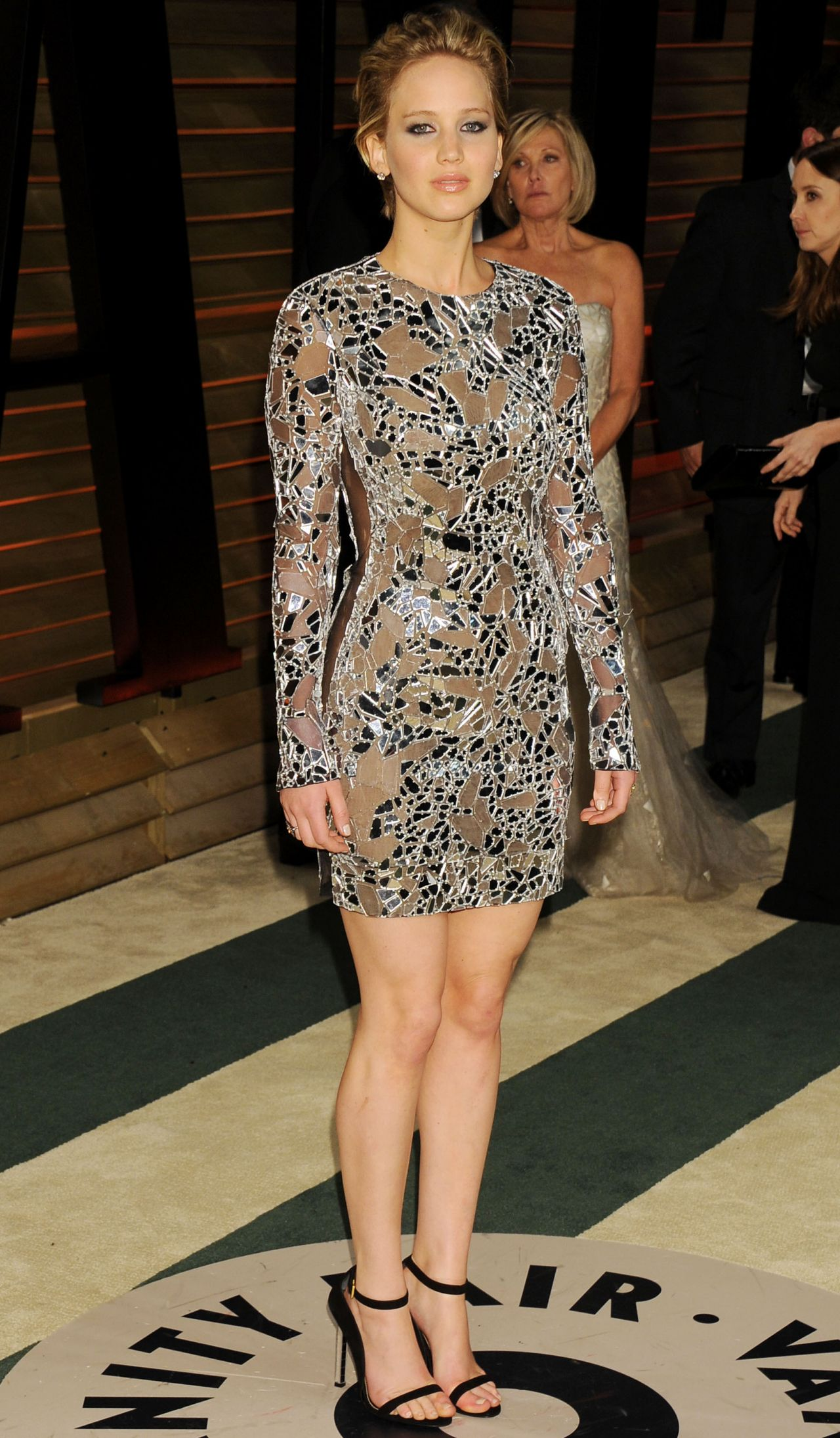 Jennifer Lawrence In Tom Ford Mini Dress 2014 Vanity