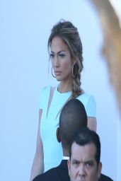 Jennifer Lopez - American Idol Studios - March 2014