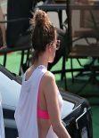 Jennifer Lopez - Arriving to CBS Studios in Studio City, March 2014