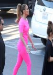 Jennifer Lopez Wearing J Brand - at American Idol studios in West Hollywood