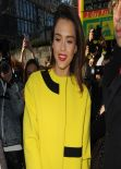 Jessica Alba at the Kenzo Fashion Show in Paris - March 2014