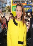 Jessica Alba at the Kenzo Fashion Show in Paris - March 2014