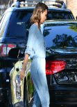 Jessica Alba Casual Style - at a Party in Los Angeles - March 2014