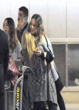Jessica Alba Has Arrived to LA From Parist - LAX Airport, March 2014