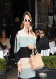 Jessica Alba Street Style - Leaving L