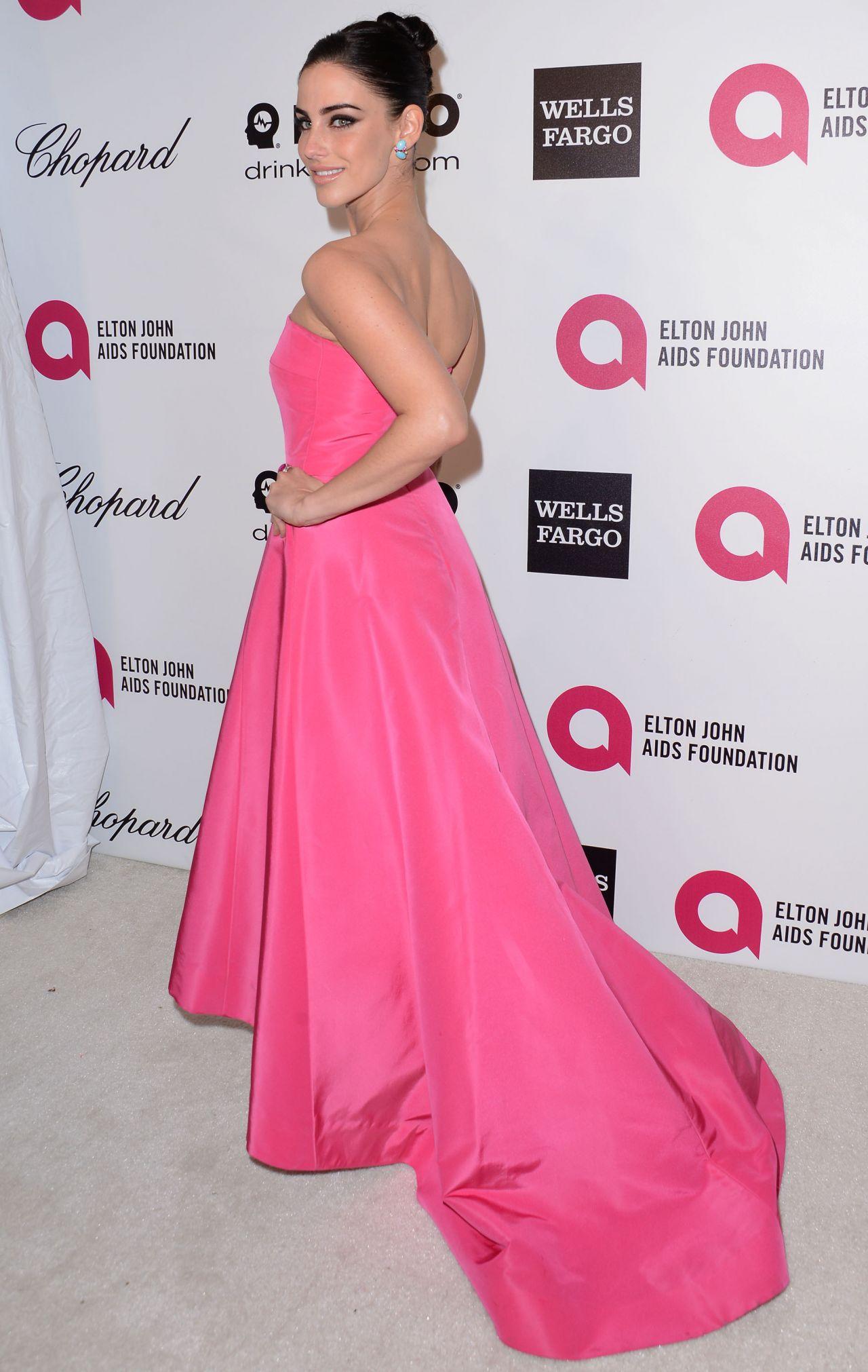 Jessica Lowndes - 2014 Elton John Oscar Party