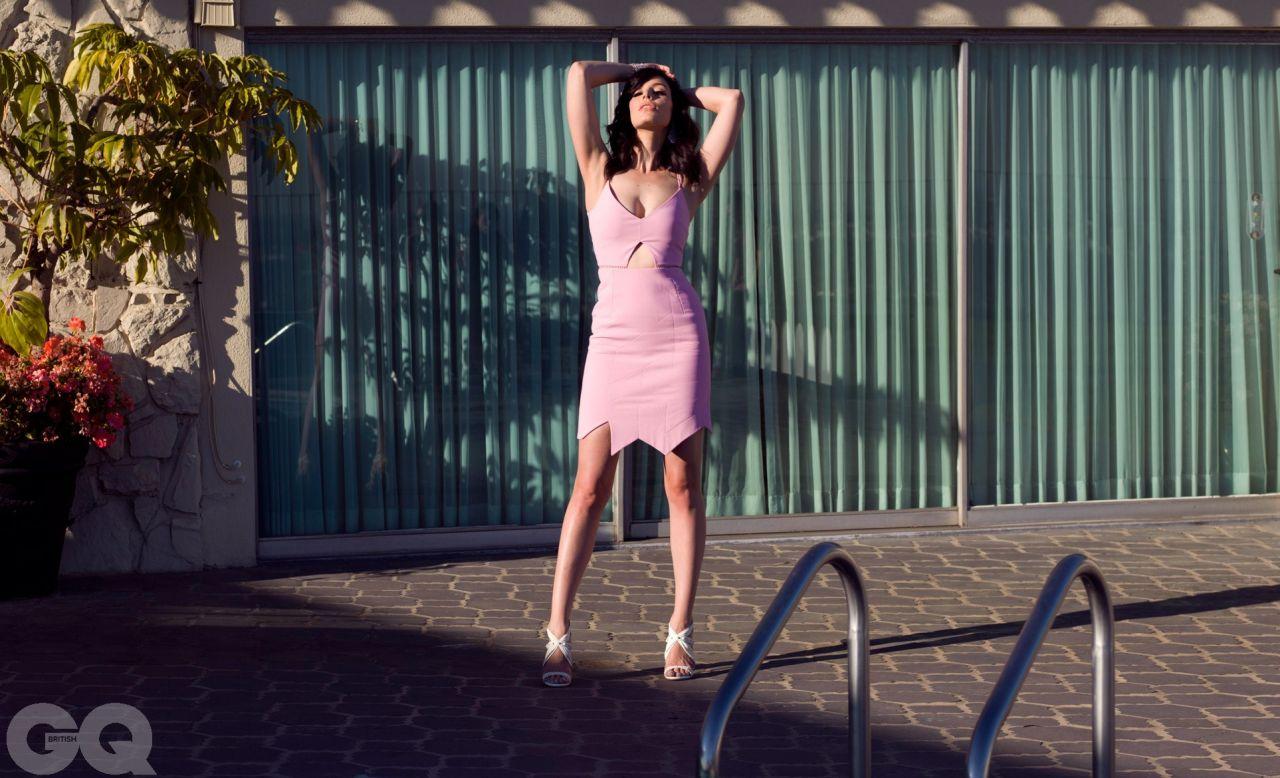 Jessica Pare Gq Magazine Uk March 2014 Issue
