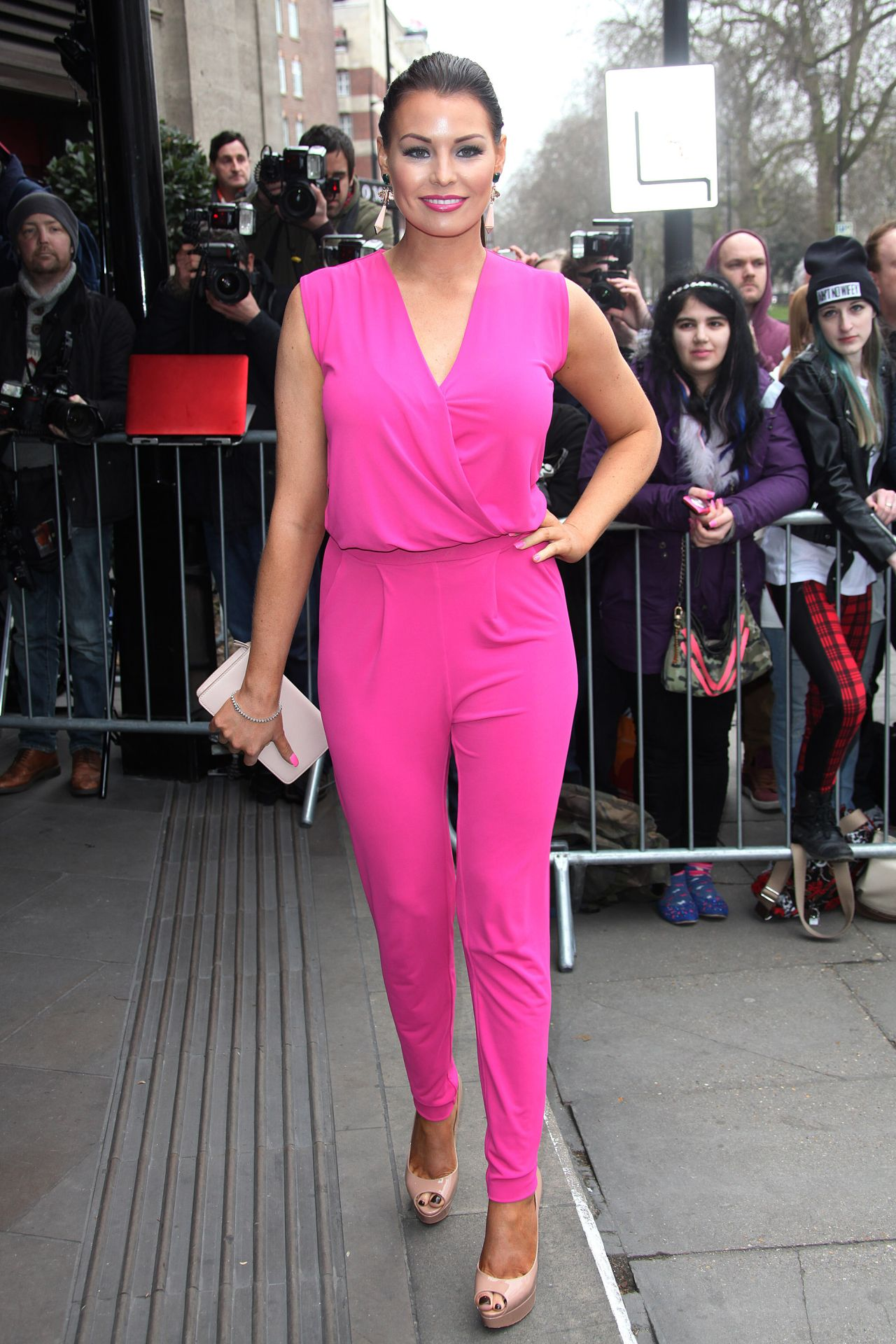 Jessica Wright TRIC awards 2014 in London