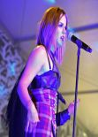 Joanna JoJo Levesque Performing at The Fader Fort at the SXSW Festival in Austin - March 2014