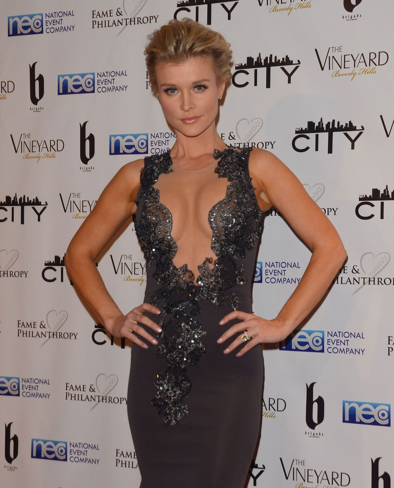 Joanna Krupa - 2014 Fame & Philanthropy Post-Oscar Party in Beverly Hills