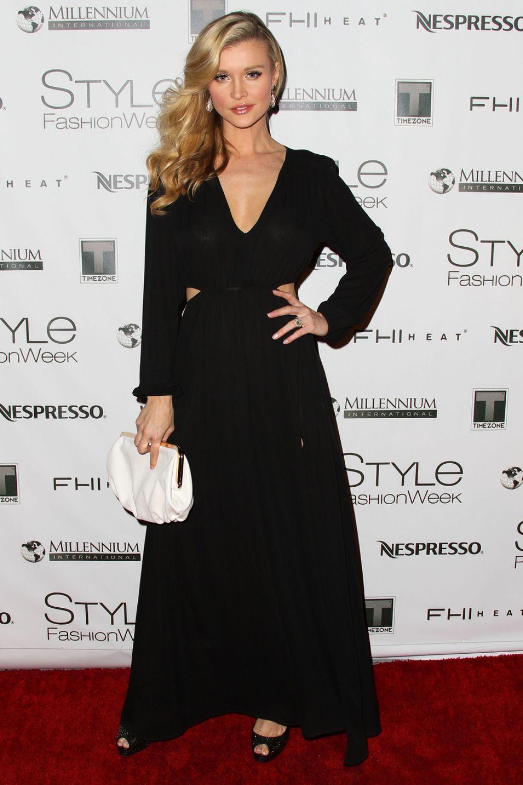 Joanna krupa in los angeles style fashion week march 2014 Style fashion week in la