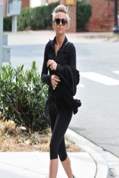Julianne Hough in Spandex - Heads to the Gym in Washington DC - March 2014