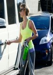 Julianne Hough - Laving the Gym in Los Angeles - March 2014