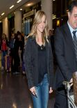Julie Benz in Jeans at LAX Airport, March 2014