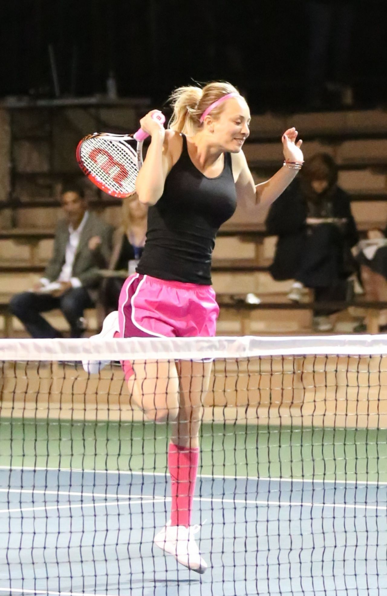 Kaley Cuoco Tennis Match For Charity In Calabasa March
