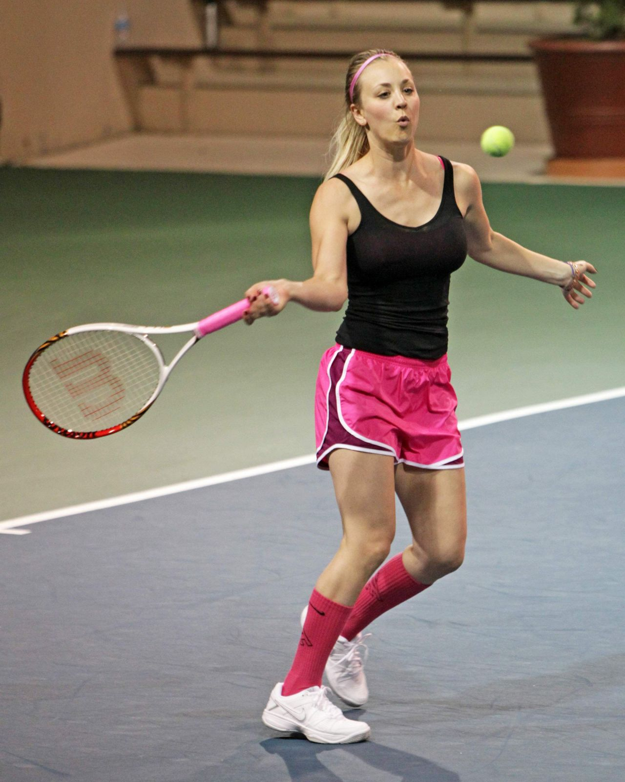 Image result for kaley cuoco tennis