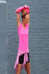 Karlie Kloss - Photoshoot for New Nike Running Shoes