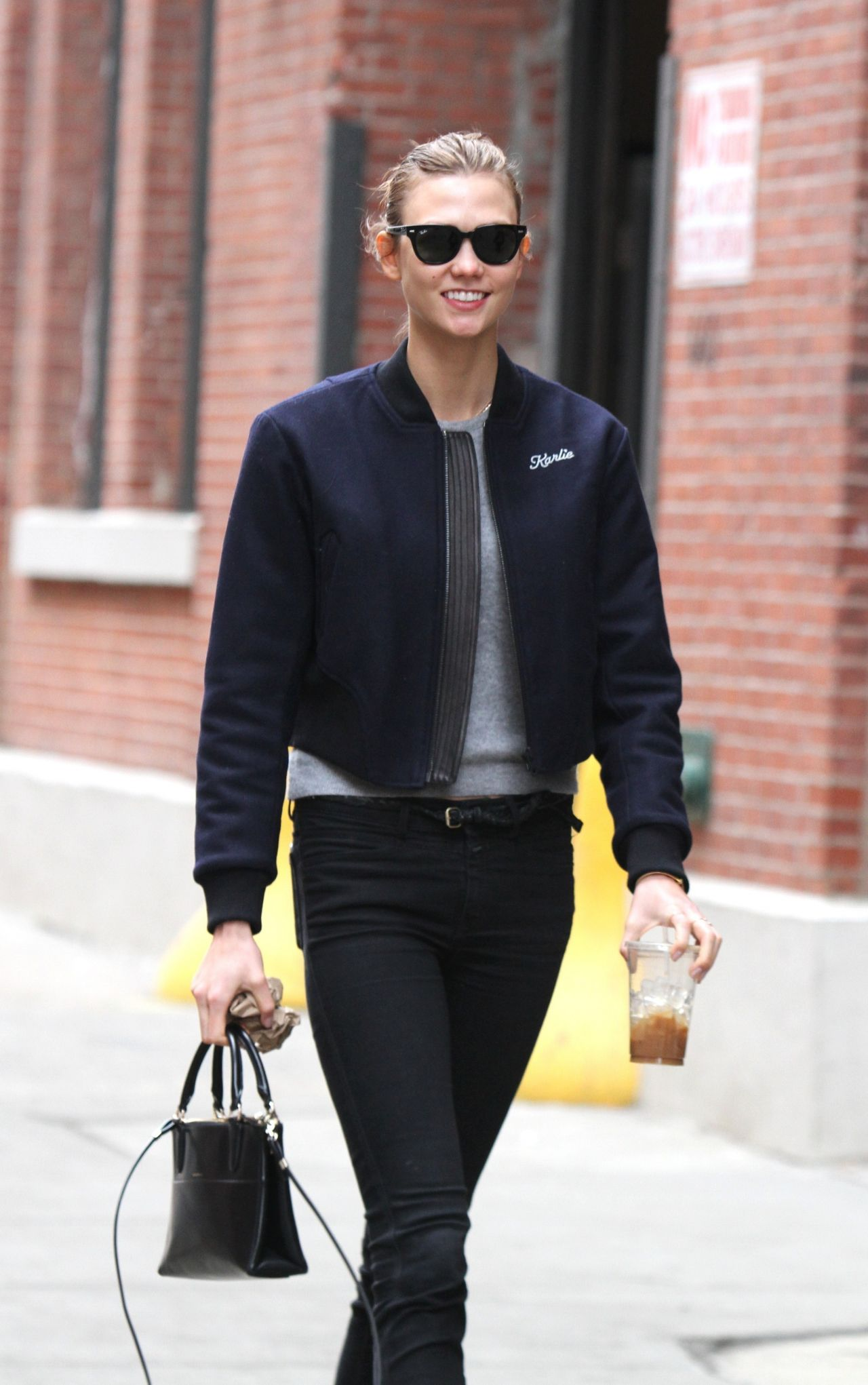Karlie Kloss Street Style - Meatpacking District, March 2014