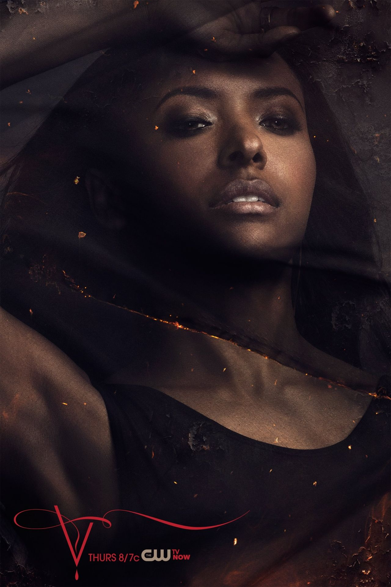 Kat Graham – 'The Vampire Diaries' TV Series – Season 5 Promo Photos