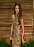 Kate Beckinsale Wearing Elie Saab Gown – 2014 Vanity Fair Oscar Party