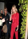 Kate Hudson Night Out Style - Madeo Restaurant in West Hollywood