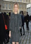 Kate Mara in Paris - Louis Vuitton Fashion Show - March 2014