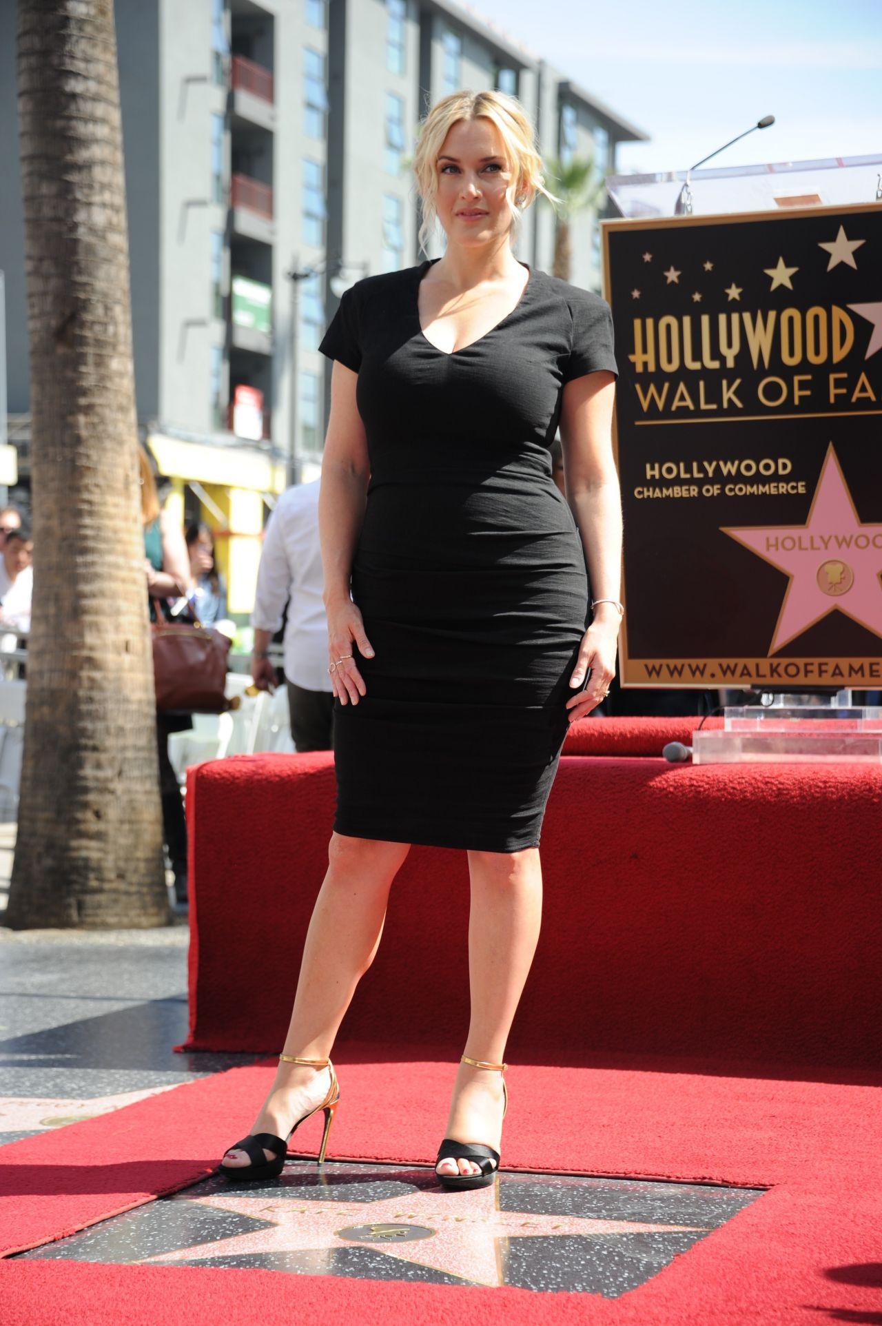 Kate Winslet Honored With A Star On The Hollywood Walk