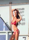 Katelynn Ansari in Bikini - Photoshoot for 138 Water- California, February 2014