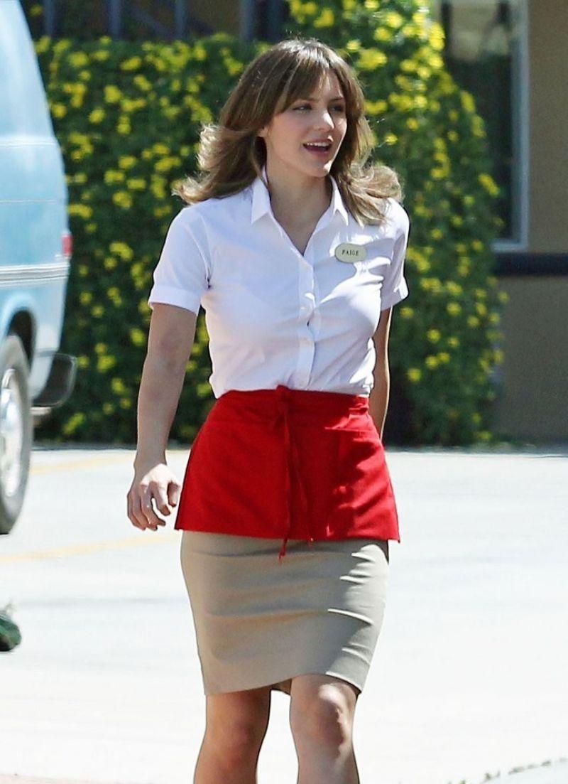 Katharine McPhee - Films Scenes for CBS Genius Drama
