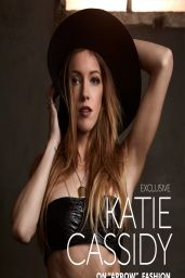 Katie Cassidy - Glamoholic Magazine - March 2014 Issue