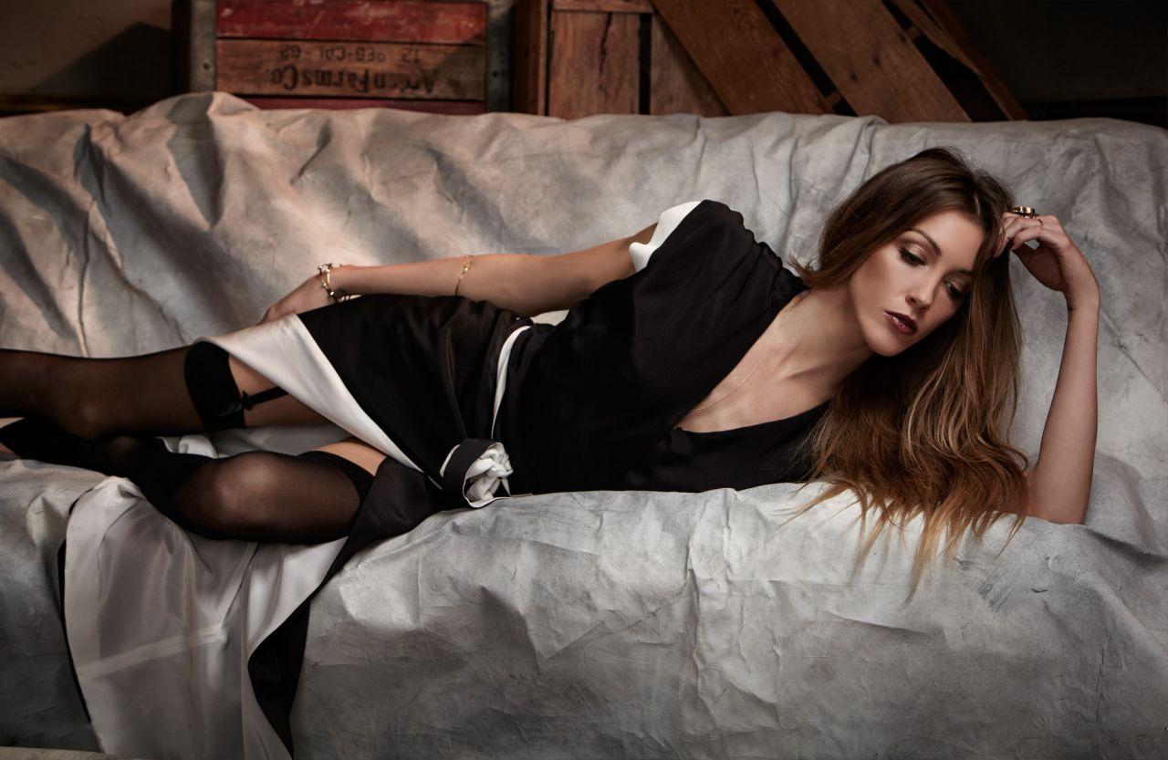 Katie Cassidy - Glamoholic Magazine - March 2014 Issue-6317