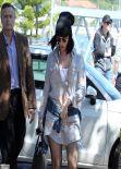 Katy Perry Street Style - Catalina Resutaurant in Sydney