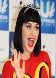 Katy Perry - U Express Live Press Conference in Japan - March 2014