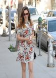 Kelly Brook in Mini Dress - Out in Beverly Hills