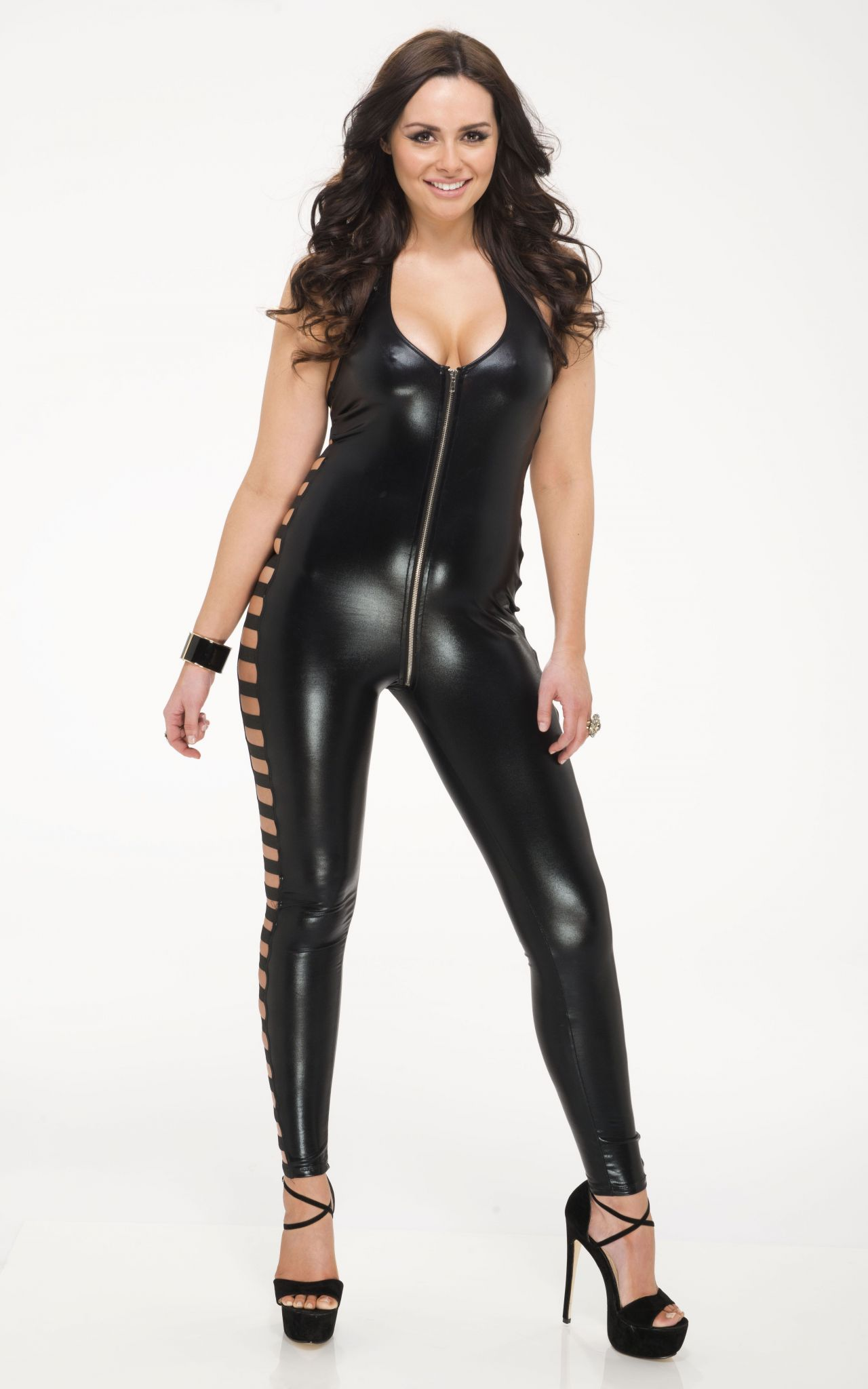 beth crossley in latex dan charity photoshoot 2014
