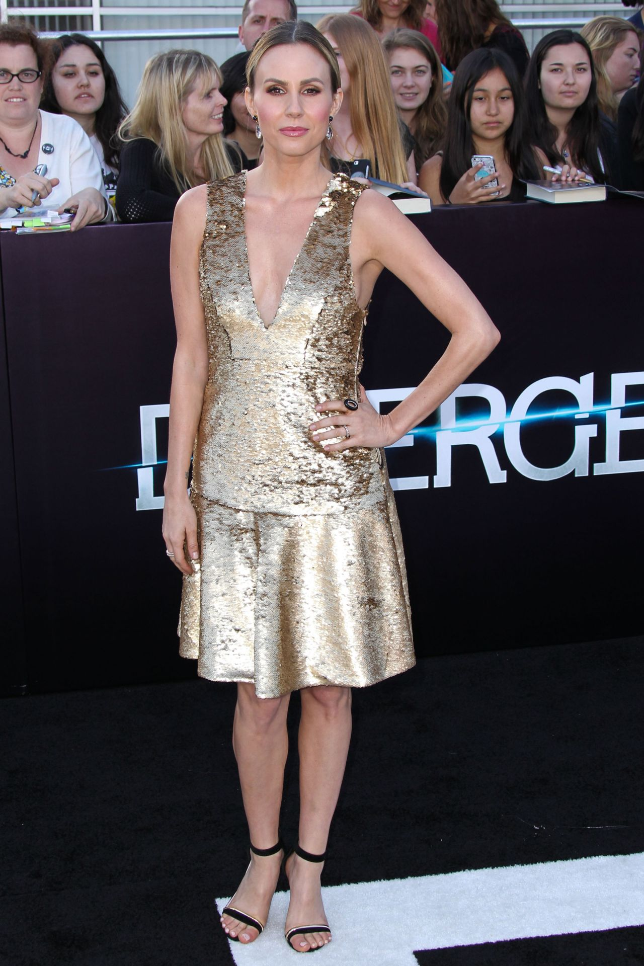 Keltie Knight - 'Divergent' Premiere in Los Angeles