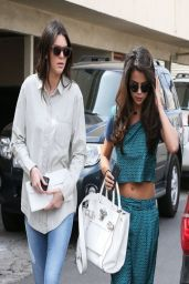 Kendall Jenner and Selena Gomez - Out in Los Angeles, March 2014