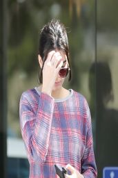 Kendall Jenner in Sexy Ripped Jeans - Out in LA - March 2014